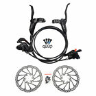 SHIMANO BR-BL-M315 MTB Hydraulic Disc Brake Set Front and Rear G3 Rotors 160mm