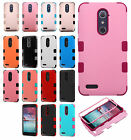 ZTE Imperial MAX IMPACT TUFF HYBRID Protector Case Skin Phone Cover Accessory