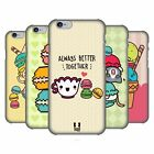 HEAD CASE DESIGNS KAWAII MACARON COVER RETRO RIGIDA PER APPLE iPHONE TELEFONI