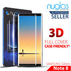 Galaxy S8 Plus Note 8 NUGLAS Tempered Glass Full Cover Screen Protector Samsung