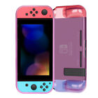 For Nintendo Switch Console & Joy-Con Controller Shockproof Clear Case Cover