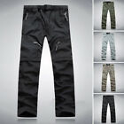 Classic Mens Quick Dry Zip Off Convertible Pants Outdoor Hiking Trousers Size