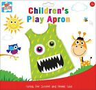 Ages 3+ Waterproof Childrens Play Apron Clean Overalls Painting Cooking Nursery