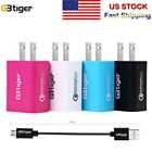 US STOCK! GBTIGER Portable USB Wall Charging Adapter Quick Charge+USB Cable