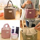 Portable Thermal Insulated Lunch Box Tote Cooler Bag Bento Pouch Container AU