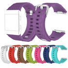 10+ Color L/S Silicone Replacement Wristband Strap+Metal Buckle For Fitbit Ionic