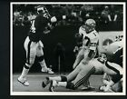 Dave Kreig & Andy Headen 1983 Press Original Photo by Bob Olen Seahawks Giants