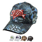 G Loomis Skeleton Fish Logo Kryptek Camo Polyester Cap One Size Adjustable Hat
