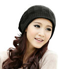 Fashion Women Baggy Knit Ski Snowboard Hat Oversized Slouch Cap Beanie