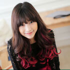 US Seller Fashion Girl Long Curly Hairpiece Synthetic Clip in Hair Wig 60cm 1Pc