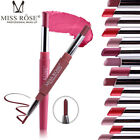 MISS ROSE Double-end Lasting Lipliner Waterproof Lip Liner Stick Pencil Lipstick