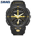 New Dual Display Watch Men Sports Watches Digital Time Date Alarm Wristwatches
