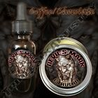 Devil's Mark Cthulhu Beard Balm Beard Oil Triple Six Artistry Coffee Chocolate