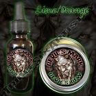 Devil's Mark Devil's Dew Beard Balm Beard Oil Triple Six Artistry Lime Orange
