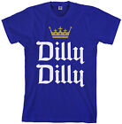 Dilly Dilly Men's T-Shirt Funny Beer Commercial Pit of Misery Drinking Crown