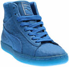Puma SUEDE MID ME ICED Blue Mens Size