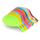 Silicone Heat Resistant Spoon Fork Mat Rest Utensil Holder Decent Tools POP AU