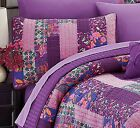 NWT BRYLANE HOME ONE PILLOW SHAM MULTI COLOR FLORAL/PATCHWORK/PURPLE  KING SIZE