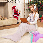 Mermaid Tail Blankets Soft Warm Sleeping Bed For Child Kids Girl Xmas Best Gift image