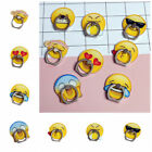 Emoji Emoticon Round 360° Ring Stand Finger Bracket Holder for Mobile Phone xxf