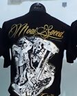 New Men T Shirt Rock Music Punk Movies Moto Heavy Metal Guns Cotton M L XL XXL