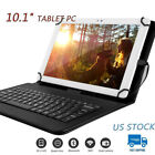 """10.1"""" Tablet PC Android 5.0 32GB Quad-core HD HDMI Dual Cam. W/ PU Keyboard Case"""