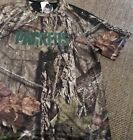 J XL Green Bay Packers Mossy Oak Shirt NFL The Woods Cool Base Majestic Tee Mens