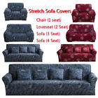 Внешний вид - 1/2/3/4 Seater Soft Heavyweight Microsuede Cover Slipcover Sofa/Couch Cover US