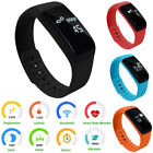 Bluetooth v4.0 Smart Watch Bracelet Band Trajectory Record Sleep Sport Pedometer