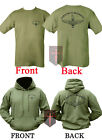 Parachute Regiment HOODIE + T Shirt Unisex All Sizes ( Double Sided Airborne