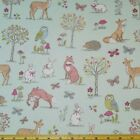 Lifestyle Woodland Animals Collection 100% Cotton Fabric 140cm Wide 20+ Designs