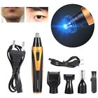4In1 Men's Electronic Shaver Trimmer Set Nose Hair Cut Temple Eyebrow Groomer