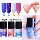 9ml Peel Off Thermal Nail Polish Sunlight Sensitive Color Changing Varnish Decor