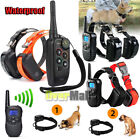 Внешний вид - Waterproof Rechargeable LCD 1100 Yard Shock Vibra Remote 2 Dog Training Collar