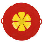1pcs Kitchen Cooking Silicone Spill Stopper Lid Pan Pot Cover Overflows Boil US