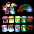 1PC Classic Gift Creative Glow In Dark Spring Toy Magical Folding Rainbow Circle