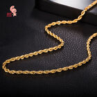 Golden Miami Cuban Necklaces Hip Hop Rock Jewelry Gifts Women Men Bling Iced Out