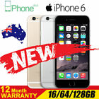 New& Sealed Box Factory Unlocked APPLE iPhone 6 16GB 64GB 128GB 1Yr Warranty""