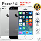 Original Apple iPhone 5S 4G LTE GSM 100% Factory Unlocked Gray/Silver/Gold HOT