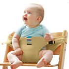 Infant Portable High Chair Safety Strap Baby Travel Booster Seat Harness Belt UK