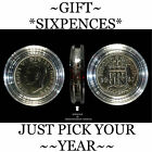 "BIRTHDAY"" CARD,NOVELTY LUCKY SIXPENCE,1947-1967,IDEAL SMALL GIFTS"
