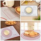Safe Non-Stick Silicone Dough Rolling Mat Baking Mat Pastry Clay Pad Sheet Liner