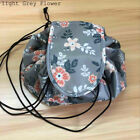 Portability Magic Travel Pouch Cosmetic Bag Makeup Storage Bags New Flower US