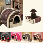 Warm Pet House Couch Mat Kennel Bed Cushion Puppy Dog Cat Sofa Winter Pad S/M/L