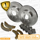 VW Vento 1.8 Front Brake Discs Pads 256mm Vented Rear Shoes 230mm 902-97 SLN NEW