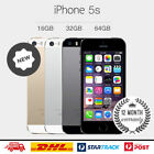 "Apple iPhone 5S- 16GB/32GB Smartphone GSM ""Factory Unlocked"" Gold Gray Silver"