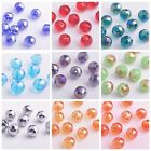 10mm Round 96Faceted Ball Charms Crystal Glass Loose Spacer Beads Wholesale Lot