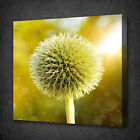 YELLOW FLOWER ABSTRACT HEARTS BOX MOUNTED CANVAS PRINT WALL ART PICTURE PHOTO