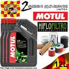 12L MOTUL 5100 15W50 OIL AND HIFLO HF112 TO FIT MOTOR CYCLES / BIKES LISTED 2