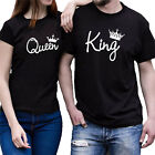 NEW Love Couples T-Shirt Fashion Matching Tops Shirts Short Sleeve Lover Clothes